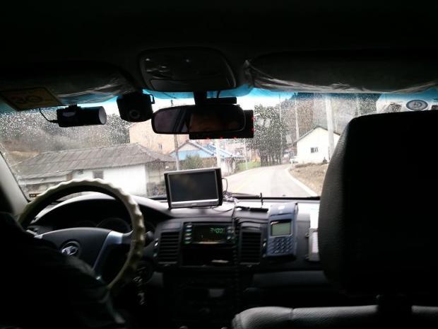 taxi, Korean taxi, Gapyeong, South Korea, driving, driving in Korea, taxi interior