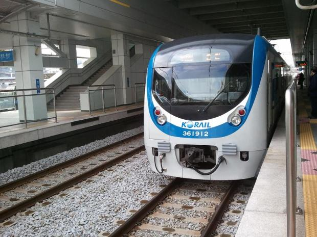 Korail, train, Seoul, train station, Cheongnyangni station, South Korea