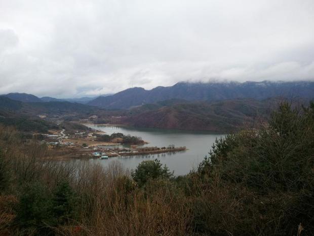 Gapyeong, Gyeonggi-Do, South Korea, view, mountains