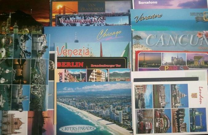 travel,  postcards, rtw