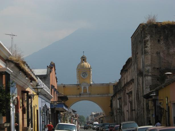 Arco Santa Catarina, Antigua Guatemala, Guatemala, Central America, travel, photography, TS76