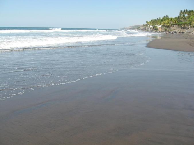 Playa el Zunzal, Playa, Beach, La Libertad, El Salvador, travel, photography, TS76