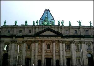 Marie-Reine-Du-Monde Cathedral, Montreal, Quebec, Canada