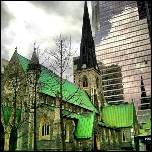 Place et Promenades de la cathédrale, downtown Montreal, Montreal, Quebec, Canada