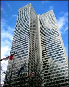 Édifice Ville-Marie, Ville-Marie Building, Montreal, Quebec, Canada