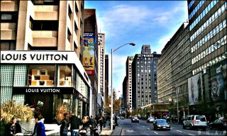 bloor, yorkville, toronto, luxury, high-end, prestigious, luxury stores, tiff, shopping, top of the line