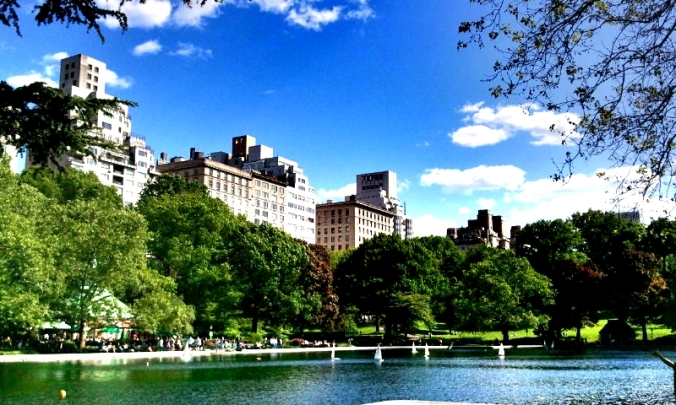 Manhattan, Central Park, Conservatory Water