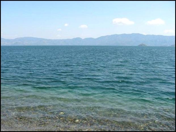 Lago de Ilopango, Ilopango lake, lake, San Salvador, El Salvador, Central America, Centro America, water, agua
