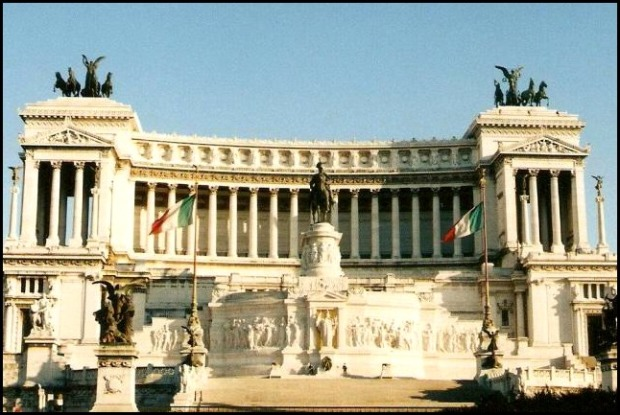 Monumento a Vittorio Emmanuele II, Rome, Roma, Building, architecture, Italy, Italia
