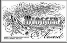 very inspiring blogger, award, nomination, blogger