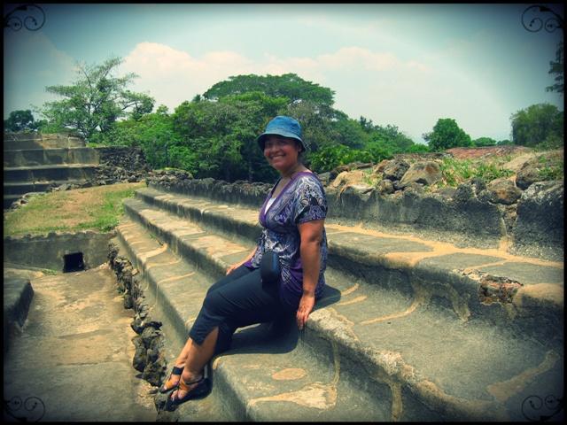 El Tazumal, Steps, Maya sacred site, El Salvador