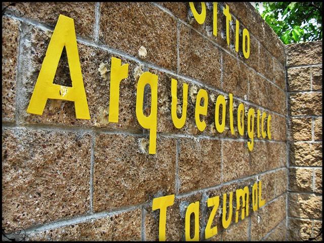 El Tazumal, El Salvador, Entrance