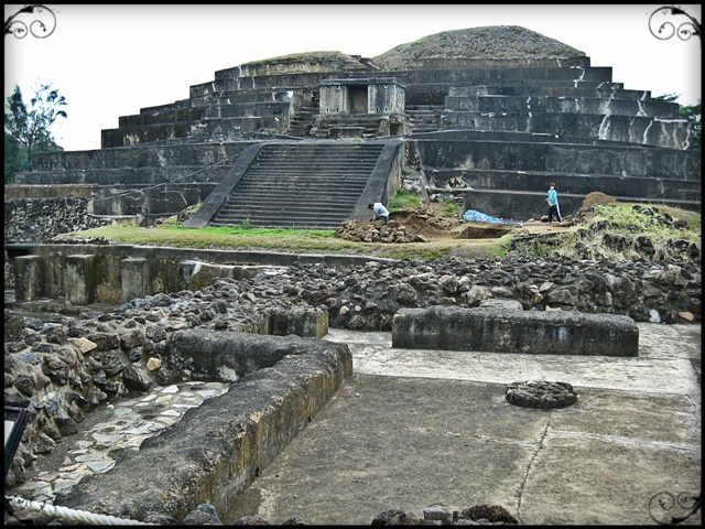 The Ruins of Tazumal in El Salvador, Central America
