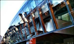 Gallery, Façade, Art Gallery of Ontario, glass, architecture, toronto