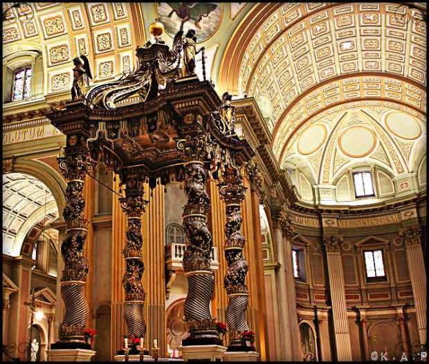 cathedral, marie-reine-du-monde, montreal, quebec, canada, cathedrals, structure, columns, religious site