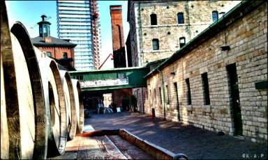 distillery district, toronto, ontario, distillery