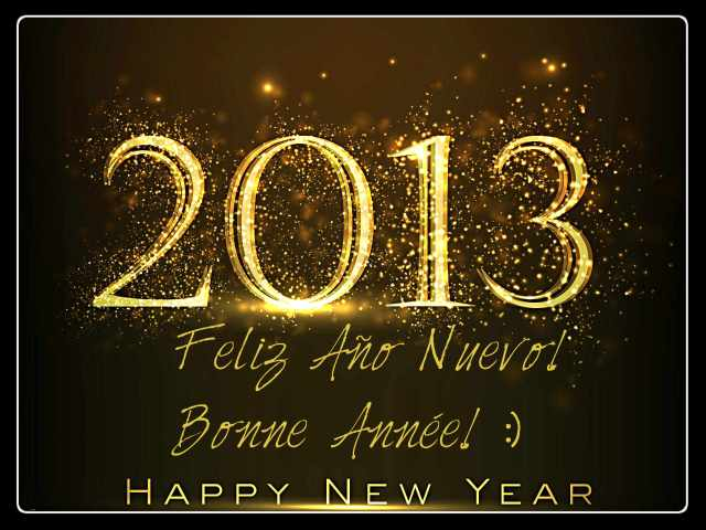 2013, happy new year, gold letters, hny, new year wishes