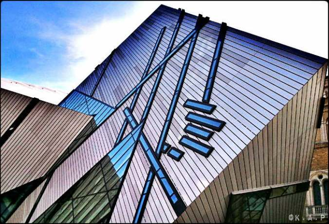 ROM, Royal Ontario Museum, Largest museum in Canada, The Crystal, architecture