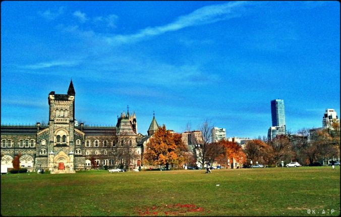 University of Toronto, UofT, St George campus, outdoor, green spaces, nature