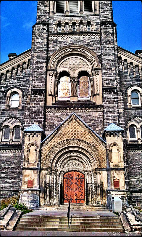University of Toronto, UofT, St George campus, architecture, historic buildings