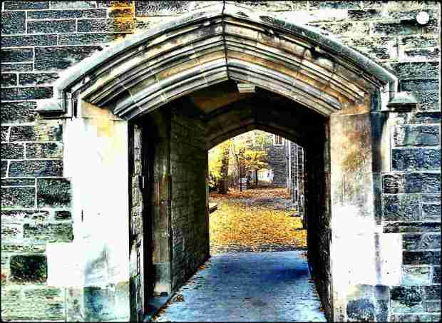University of Toronto, UofT, St George campus, outdoor, secret passage, historic building