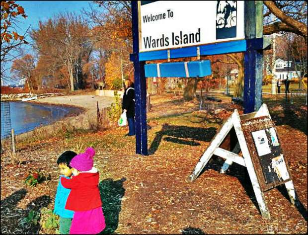 Ward's Island, Toronto Ferry Docks, Ferry, Toronto, Ontario, Canada, lake Ontario,