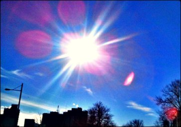 sun, sunshine, sun rays, sky, illumination