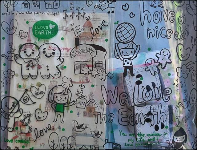 artbox bag, love, shopping bag,