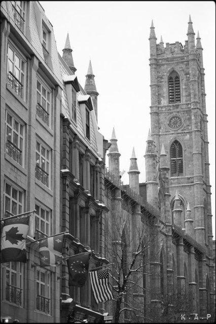 Basilique Notre-Dame, Notre-Dame Basilica, Montreal