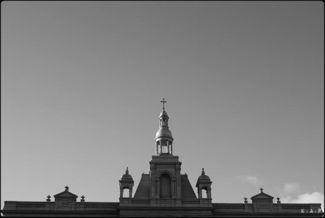 sky, church, details, montreal, mont-royal