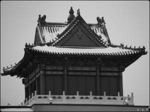 montreal, chinatown, pagoda, architecture