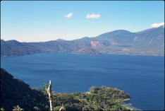 lago, lake, lago de coatepeque, el salvador, mountains, views, central america, es impressive