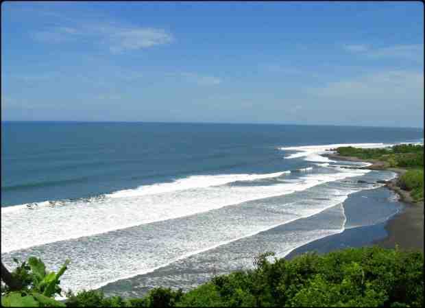 Playa Las Flores, San Miguel, El Salvador, Centro America, Central America, Beach, Playa, Life's a beach, la vida es mejor en la playa