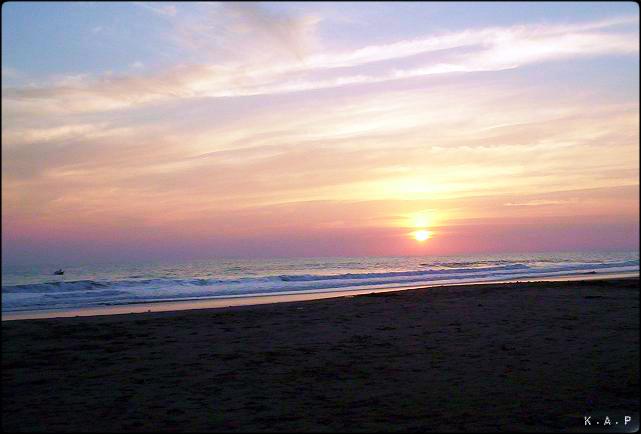 sunset, el majahual, La Libertad, El Salvador, centro america, central america, oceano pacifico, Pacific ocean, water, waves, arena negra, black sand, beach, playa