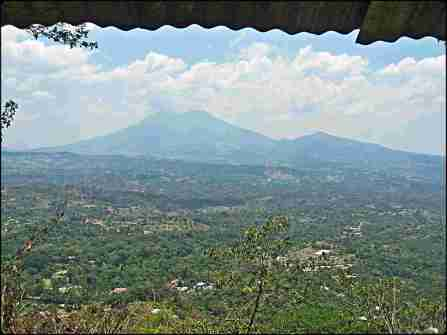 volcano, san vicente, el salvador, mountains, views, central america, es impressive
