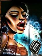 Mural, Kensington Market, Soul Singer, Art