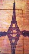 Mural, art, kensington market, Paris, Eiffel Tower