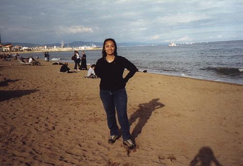 Barcelona, España, Spain, beach, playa, catalunya