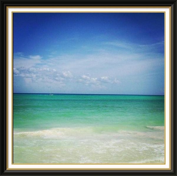 Caribbean Sea, Playa Del Carmen, Mexico, beach, playa, sky, turquoise water, mar caribe