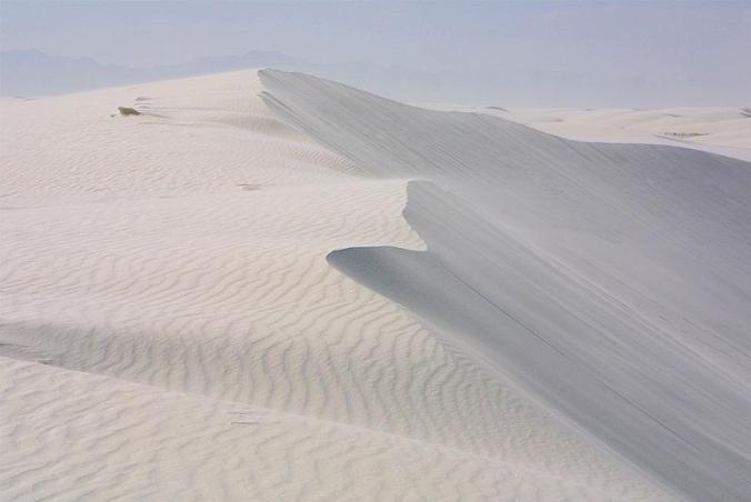White Sands National Monument Dune, New Mexico, USA, White Sand