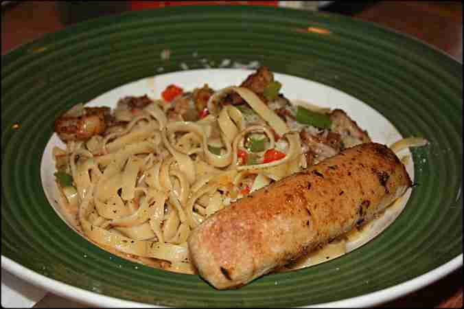 linguine, shrimps, applebees, restaurant, food, italian food