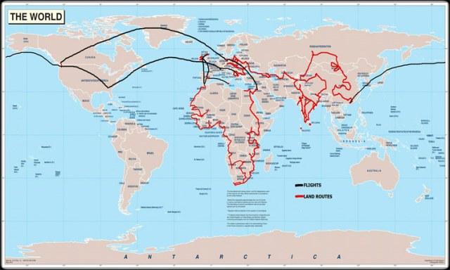 Sihpromatum, world map, countries visited, Savannah Grace, Watkins Family