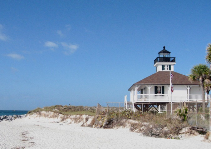 Bike tour, Boca Grande Lighthouse, Boca Grande, Charlotte Harbor and the Gulf Islands, Florida, Discover USA, travel