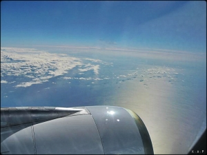 View, airplane, space, sky, Air Transat, Window seat, travel, aviation, photography