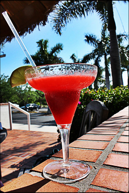 Strawberry Daiquiry, drinks, frozen drinks, Boca Grande Resort, Gasparilla Island, Florida, Visit Florida, Discover USA, Florida