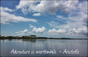 Punta Gorda, Charlotte Harbor, SW Florida, Sky, Water, Horizon, Travel, Quote