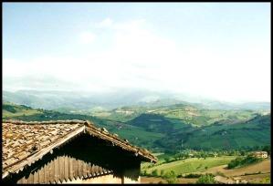 Camerino, Marche, Italy, view, Le Marche, Italia, Italian countryside