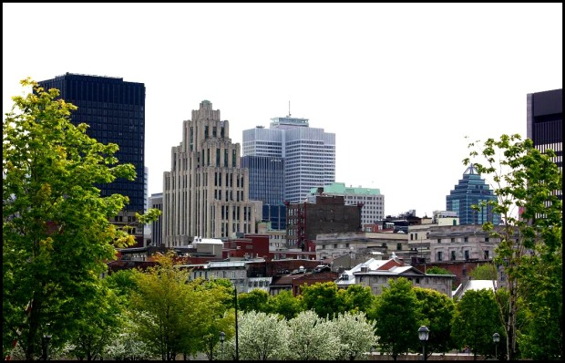 old montreal, downtown montreal, view, views, background, Montreal, photography, travel, tourisme Quebec, tourism Quebec, architecture, old vs new