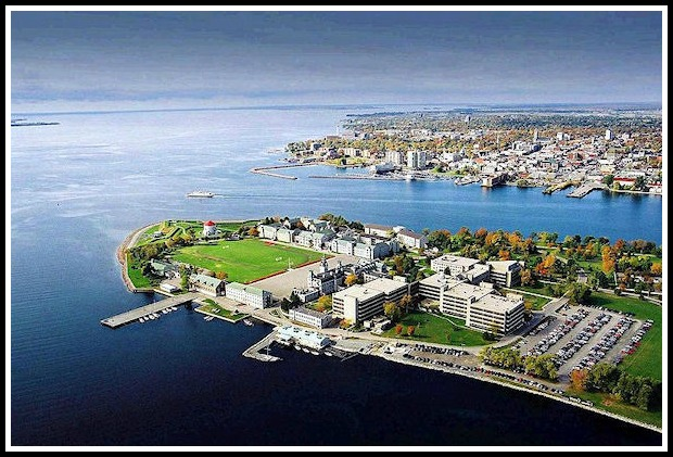 Aerial view of Kingston, Kingston, Ontario
