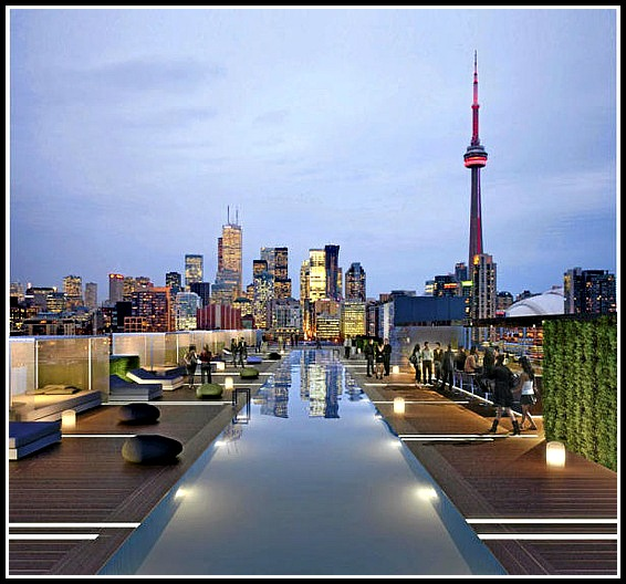 Thomston Toronto, bar, rooftop bar, Toronto, Ontario, Thompson Hotels